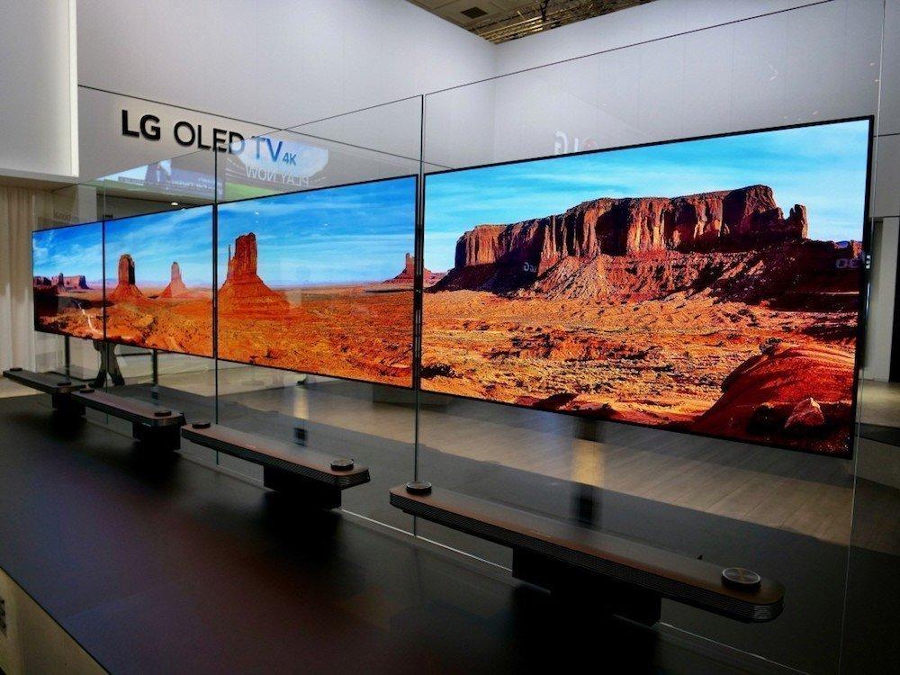 OLED TVs des LG Sub-Brands Signature – Symbolbild (Foto: LG)