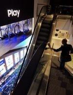 Samsung in Frankfurt – über vier Stockwerke zieht sich diese LED Wall (Foto: Cheil)