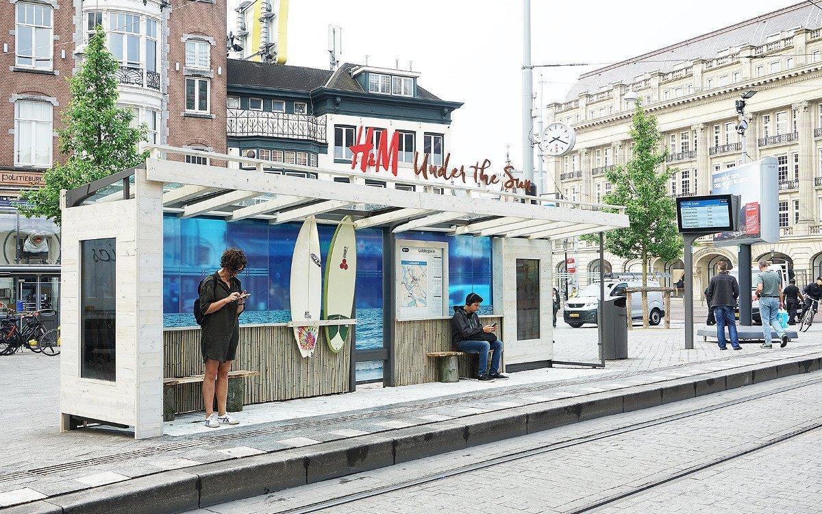 H&M Sommerkampagne mit JCDecaux (Foto: JCD)