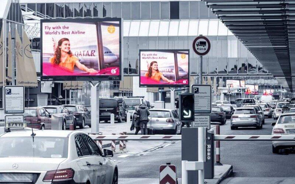 LED am Flughafen (Foto: Media Frankfurt)