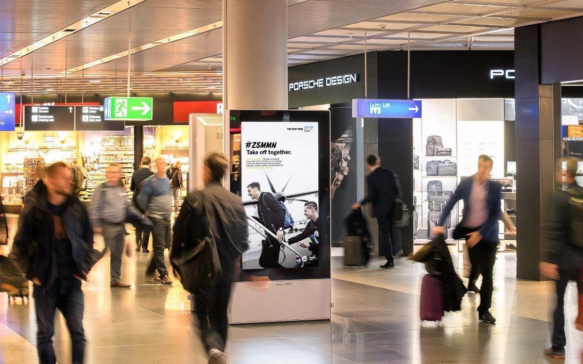 Dynamische WM-Kapagne von SAP (Foto: Media Frankfurt)