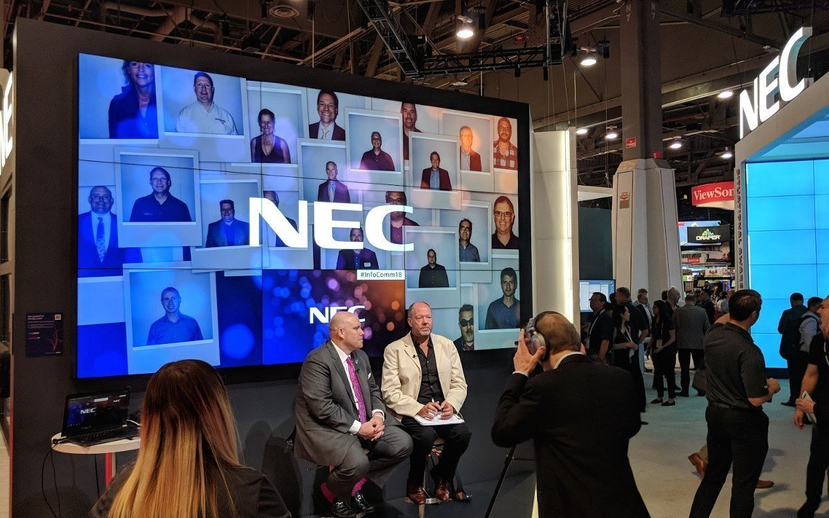 DailyDooH Interview mit Rich Ventura NEC (Foto: invidis)