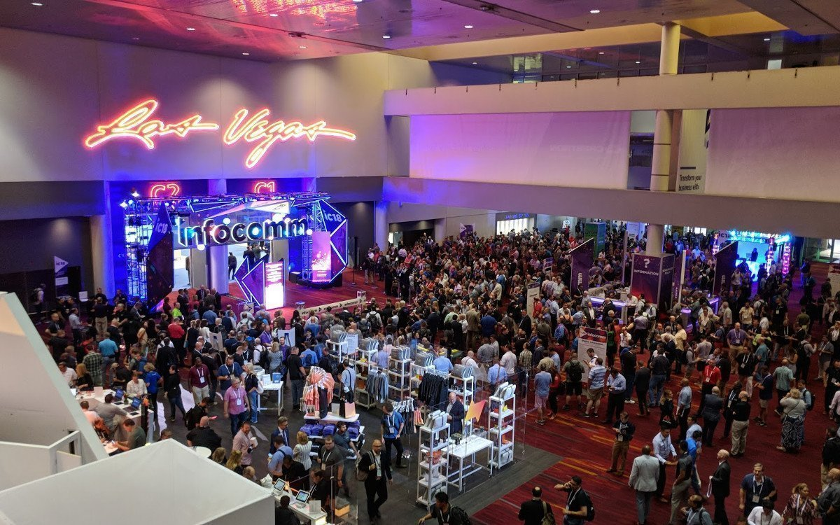 Neue Rekorde für Infocomm Las Vegas (Foto: invidis)
