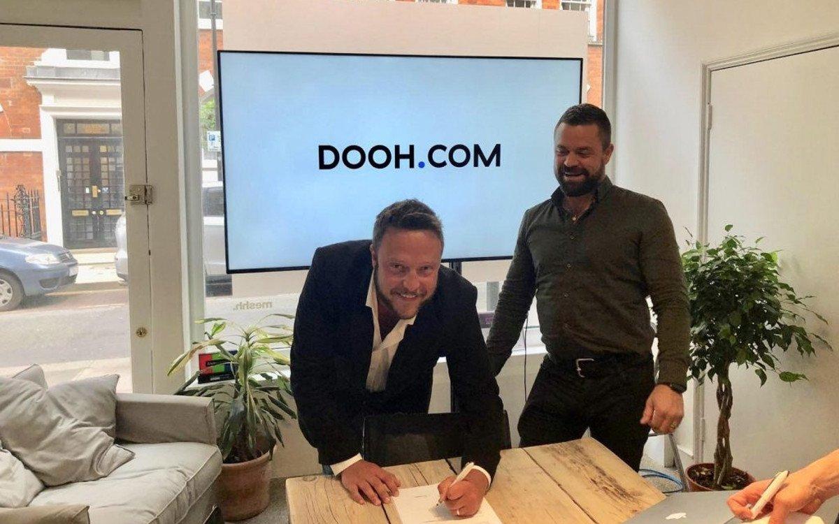 Kinetic beteiligt sich an Dooh.com (Foto: Dooh.com)