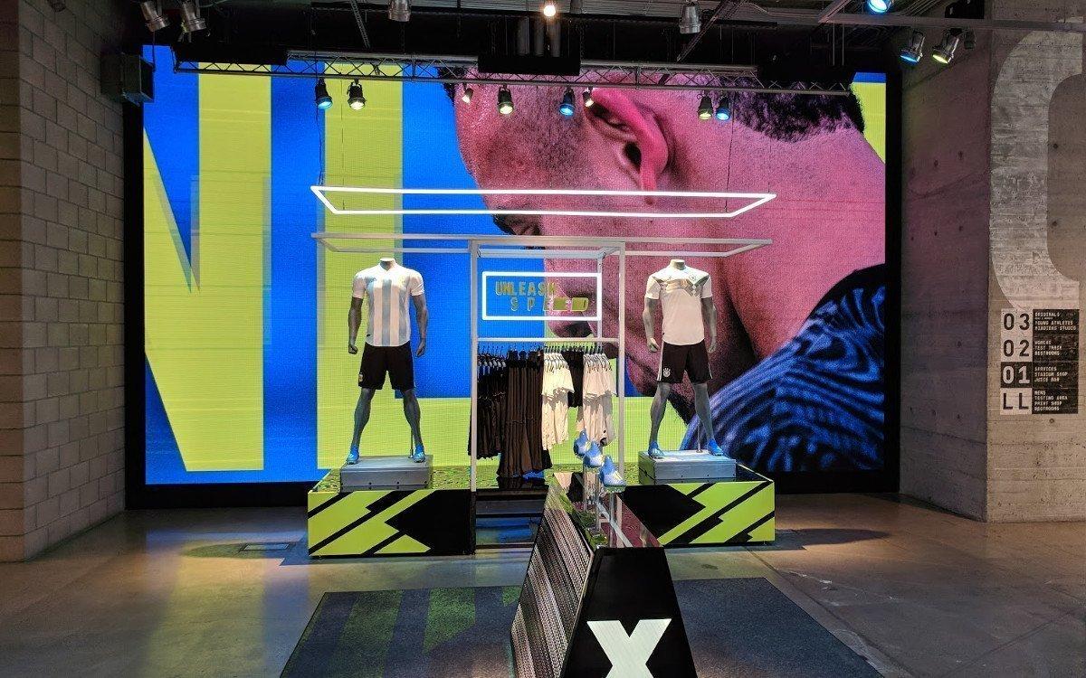 Globale Projekte - NYC Adidas Flagship Store (Foto: invidis)