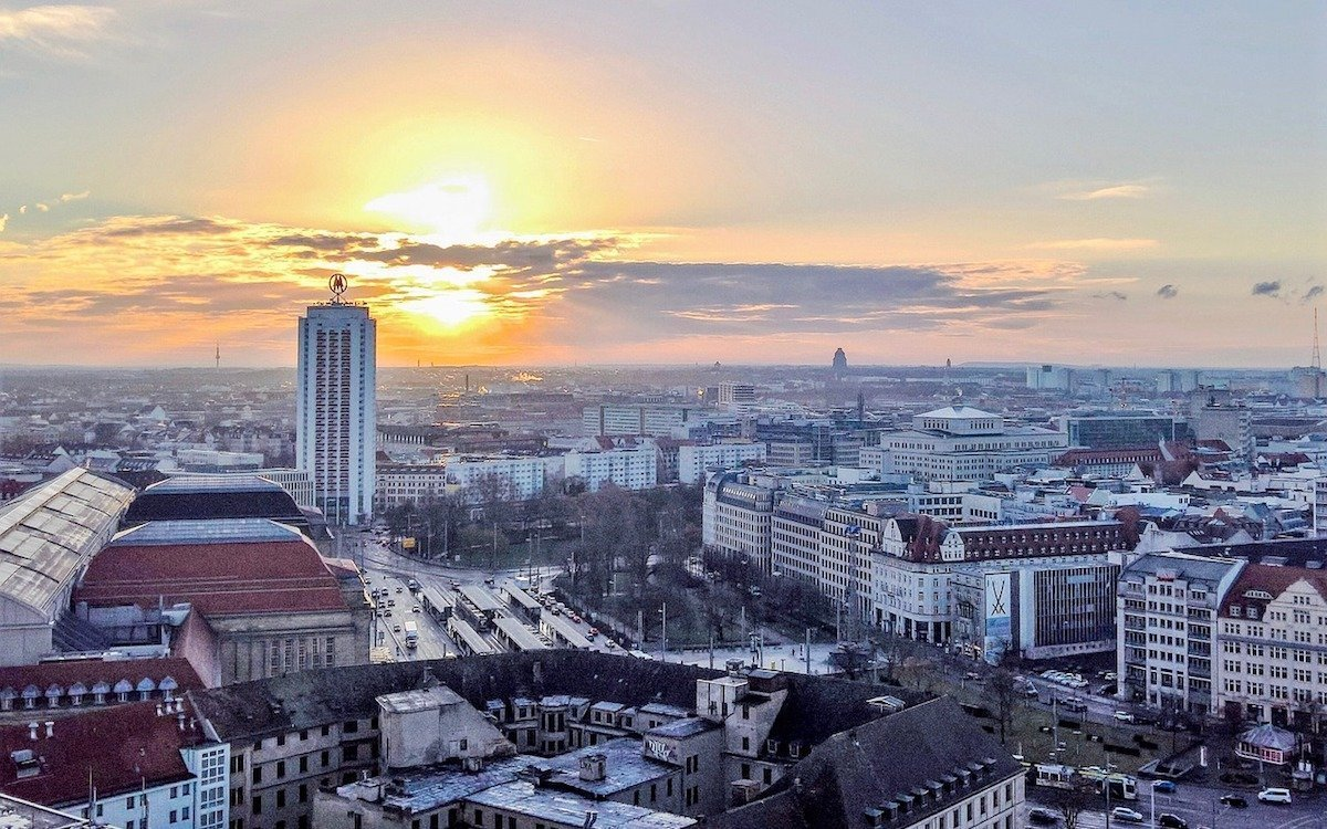 Blick über Leipzig (Foto: Pixabay / christian46562)