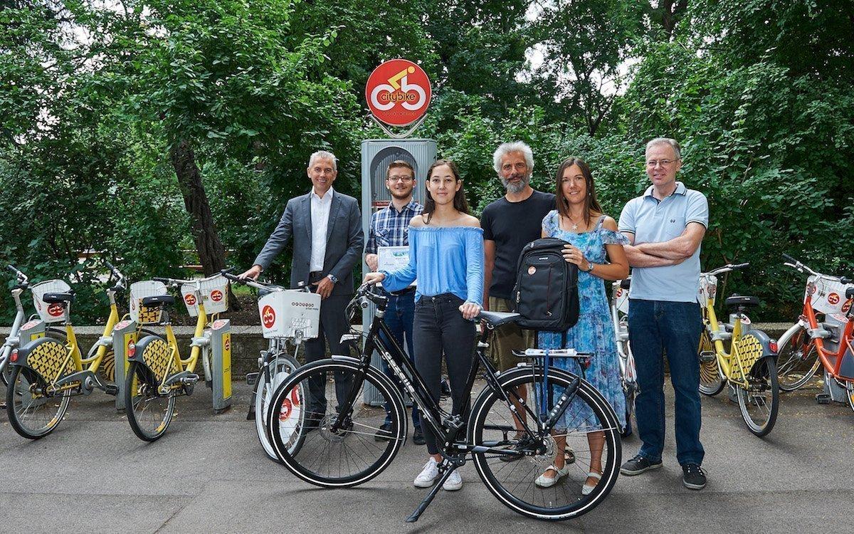 15 Jahre Geburtstag – Das Citybike hat sich in Wien durchgesetzt (Foto: Gewista)