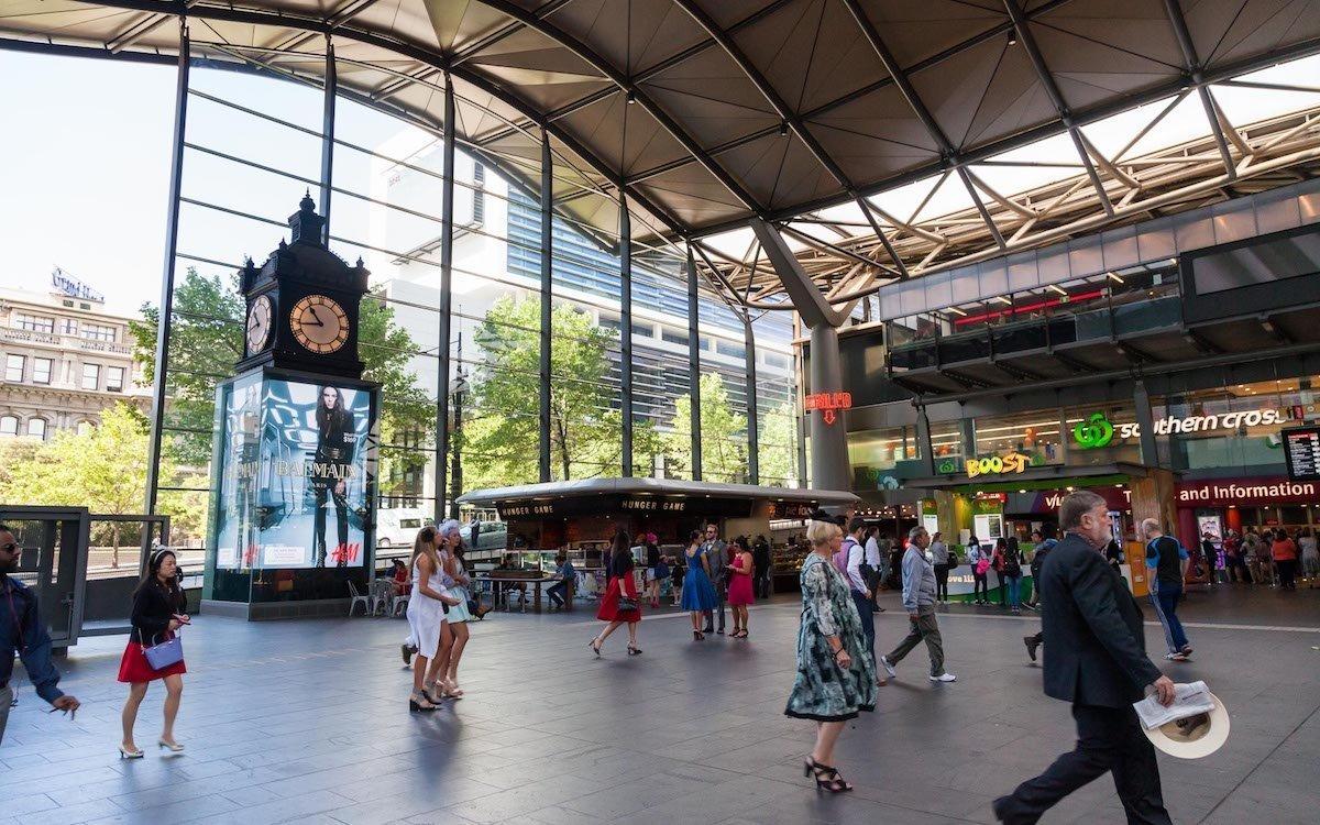 DooH Screen von JCDecaux in Melbourne (Foto: JCDecaux)