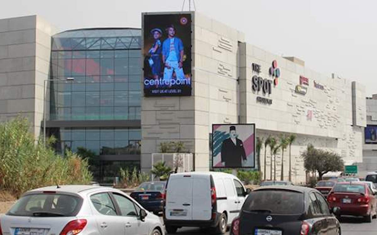 LED Screen von Pikasso an einer Shopping Mall (Foto: Pikasso)