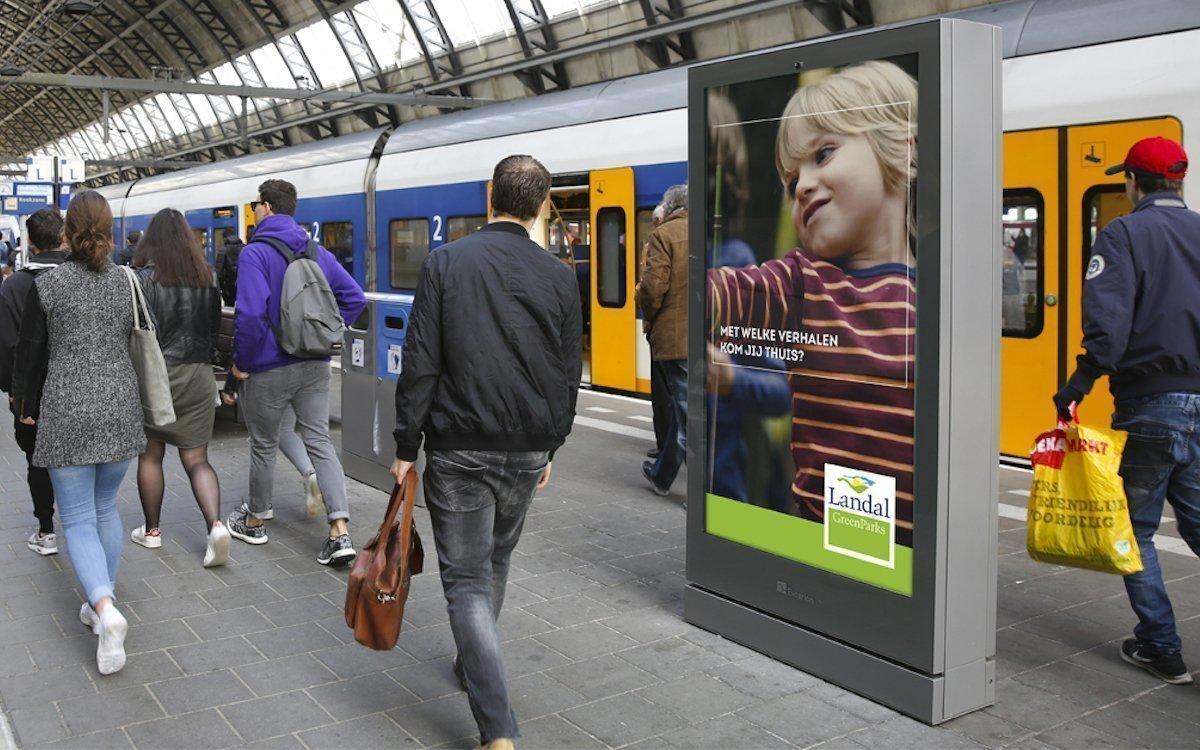 Landal GreenParks warb als Erster programmatisch im niederländischen Netz von Exterion Media (Foto: Exterion Media)