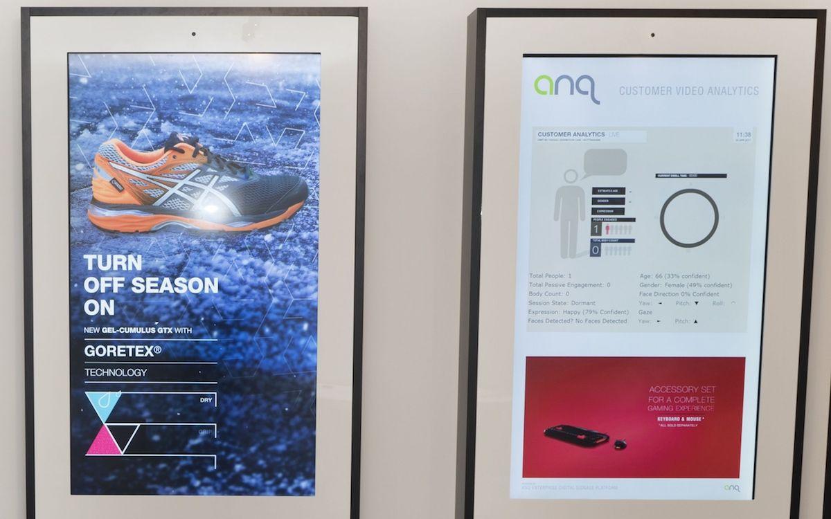 Omron-Technologie in einer Lösung von ANQ fuer den Einzelhandel (Foto: Omron)