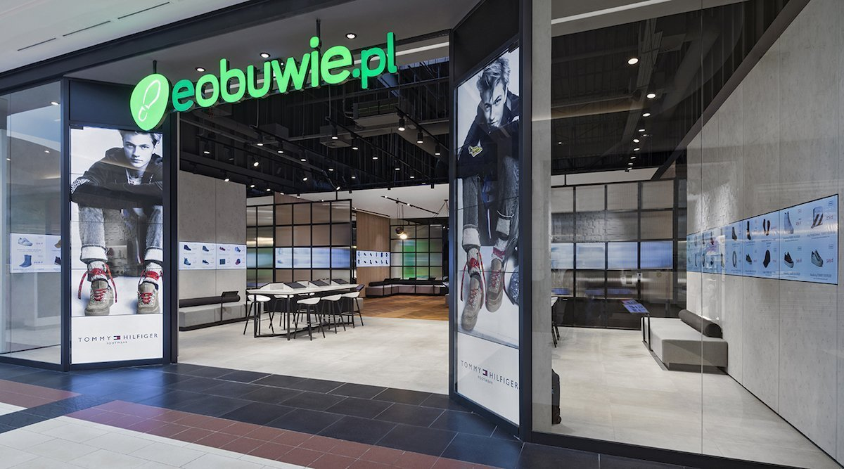 Video Walls gehoeren zu den Elementen des Flagship Stores (Foto: Dalziel & Pow)