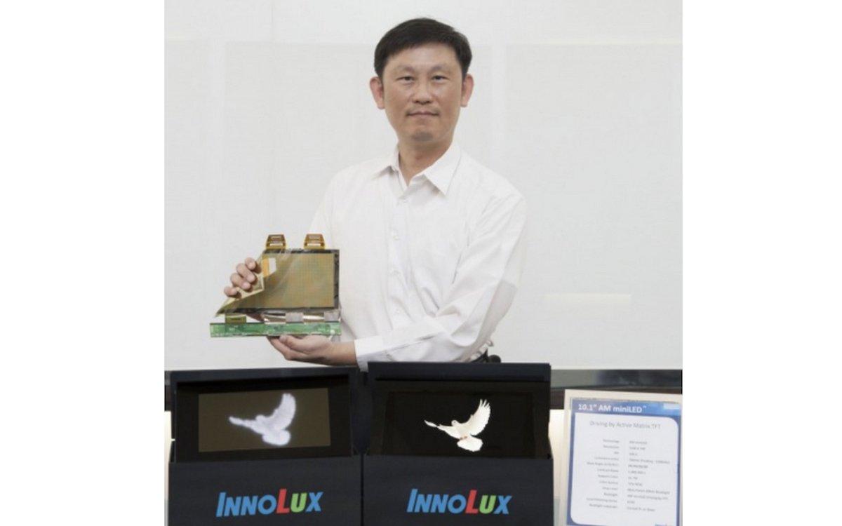 Vorstellung von AM Mini LED Screens für Automotive (Foto: Innolux)