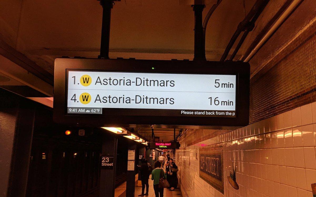 Die Metro in NYC setzt auf robuste Lösungen (Foto: invidis)
