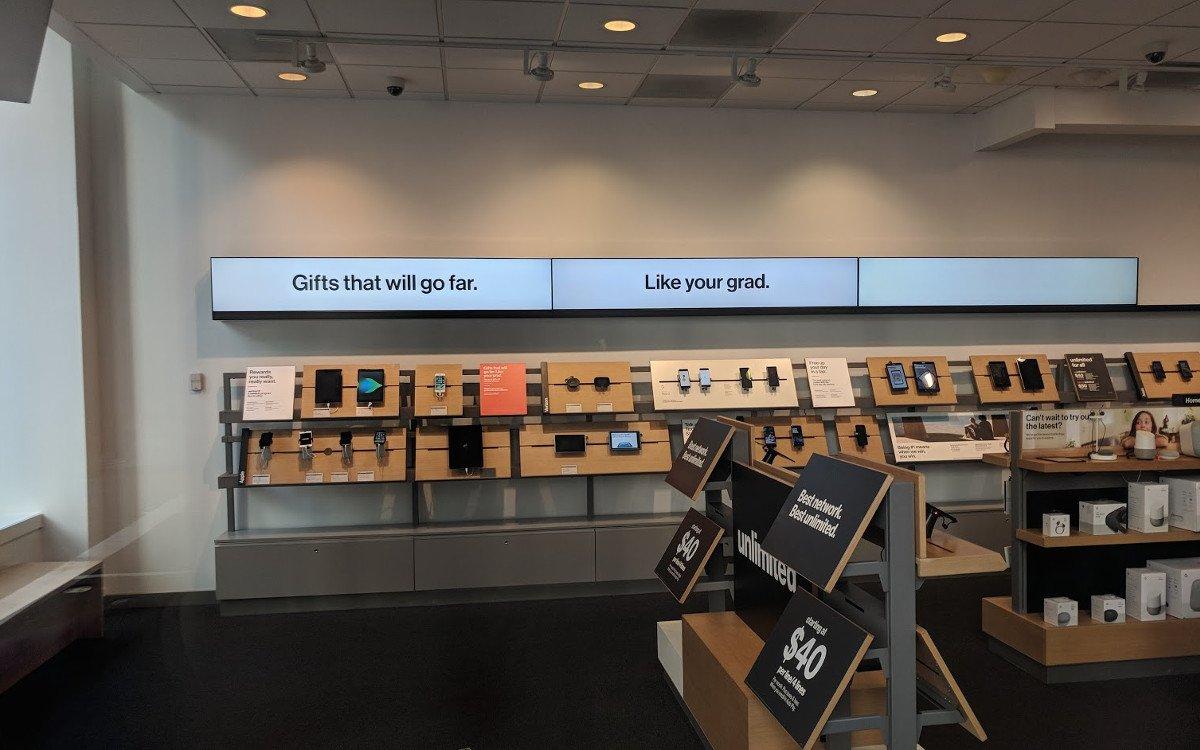 Verizon Store in San Francisco (Foto: invidis)