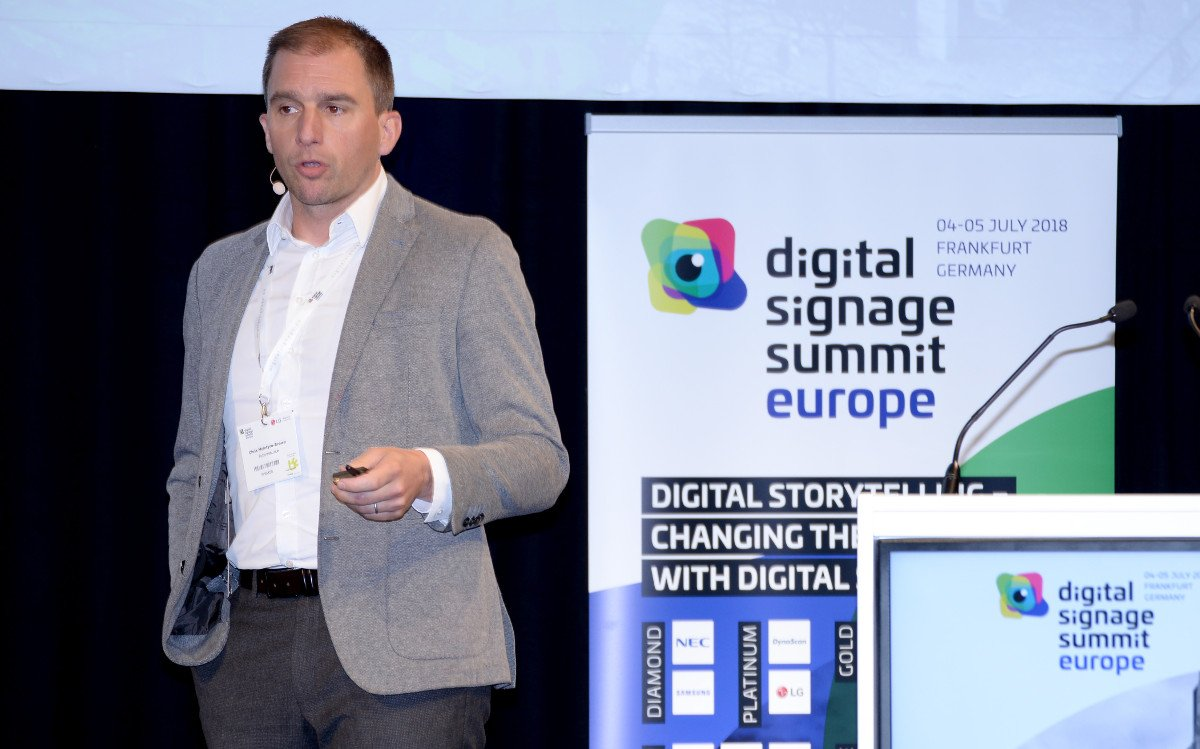 2018 DSS Europe Speaker Chris Mcintyre-Brown, Futuresoure Consulting (Foto: invidis)