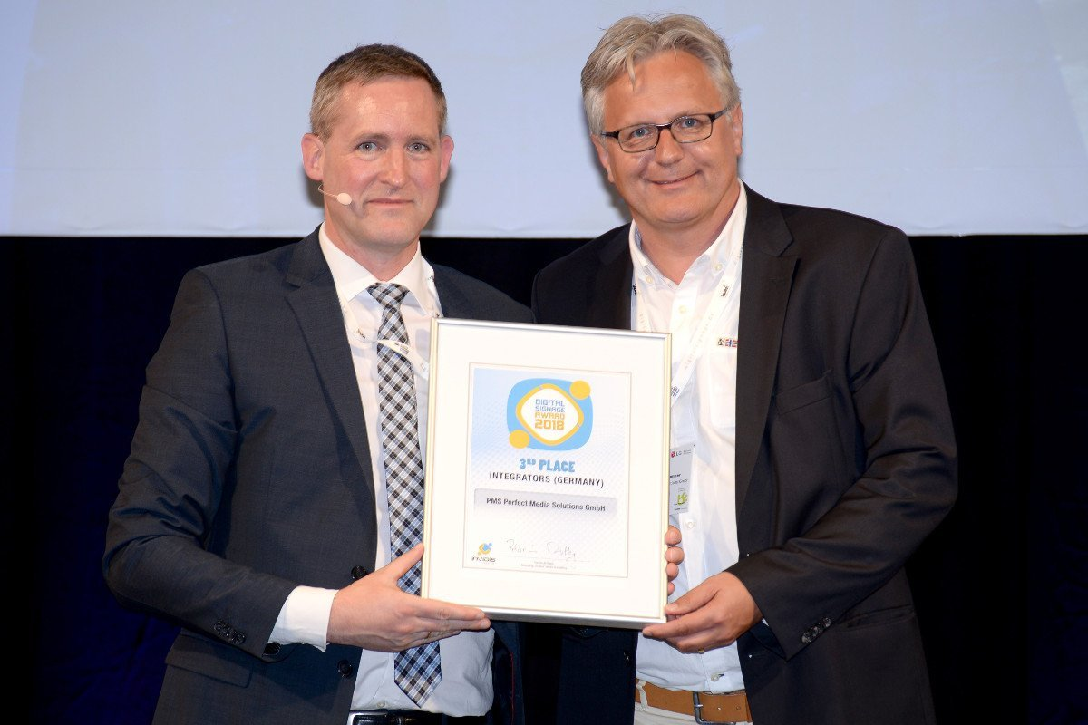 invidis awards 2018 Stefan Pagenkemper von Perfect Media Solutions (Foto: invidis)