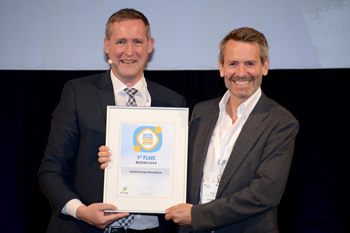 invidis awards 2018 Mike Finckh von Concept International (Foto: invidis)