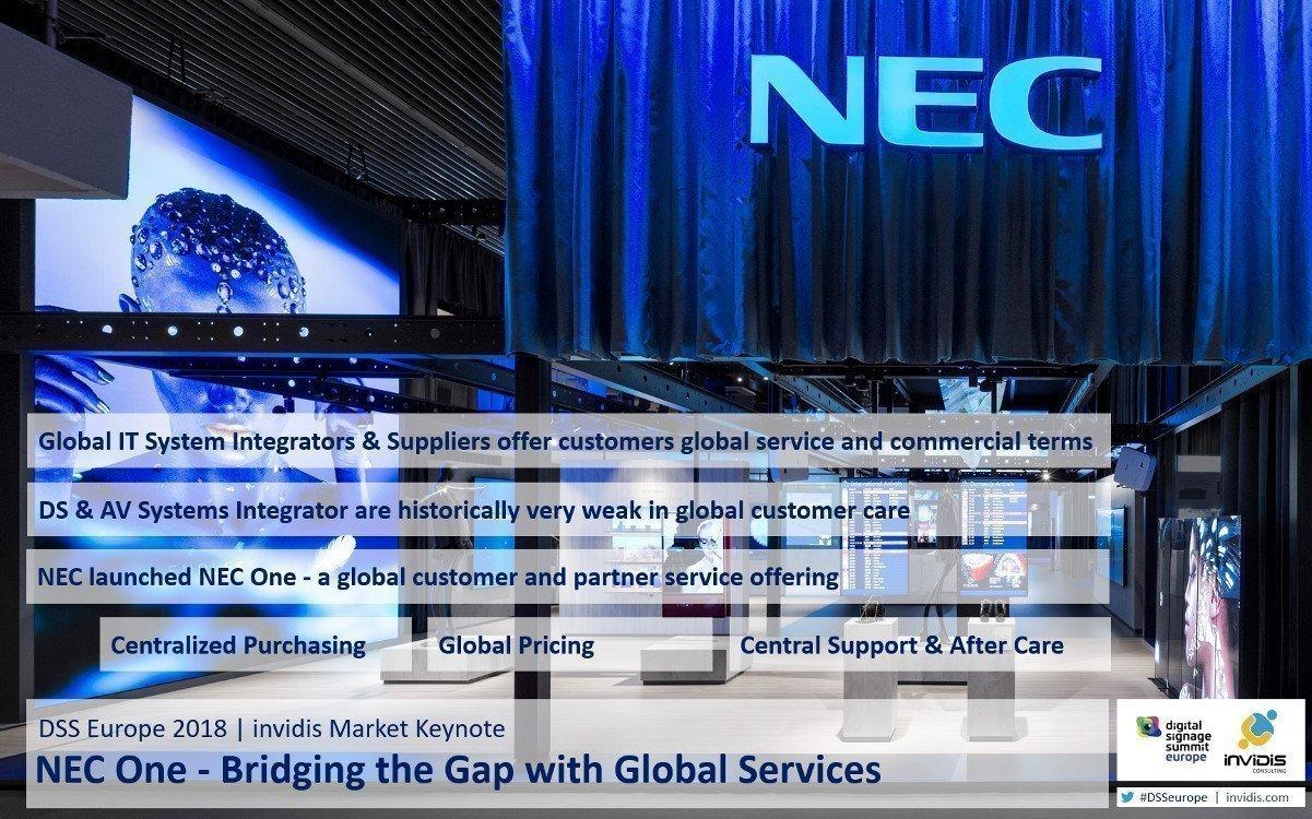 DSS Europe Keynote zu NEC One (Foto: invidis/NEC)