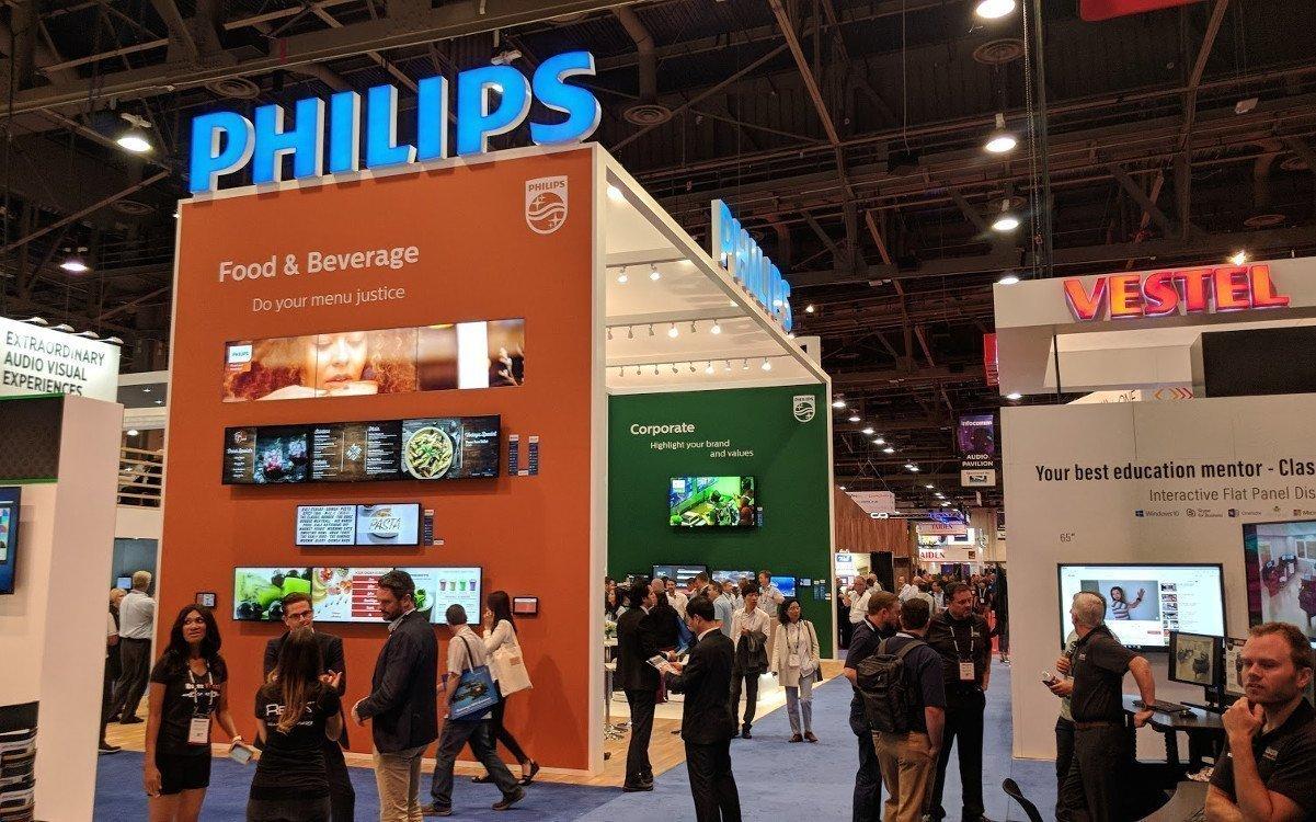 Philips auf der Infocomm 2018 (FotO. invidis)