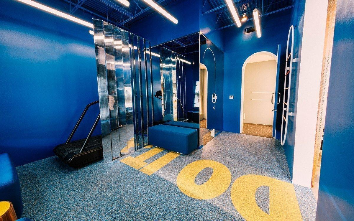 Der Fitting Room (Foto: Nike)