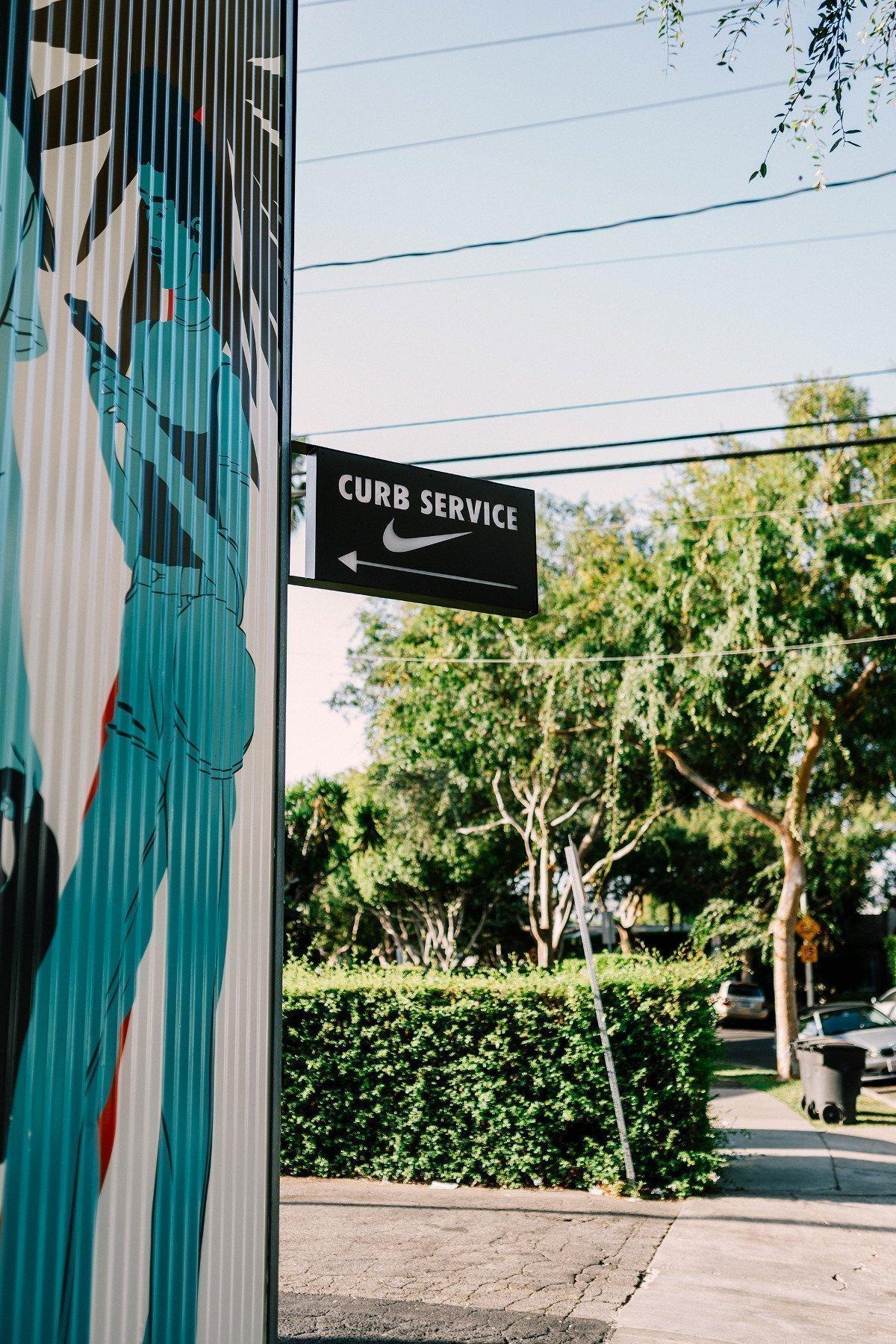 Das ist LA - Sportswear mit Drive-by. Bloss nicht aussteigen (Foto. Nike)
