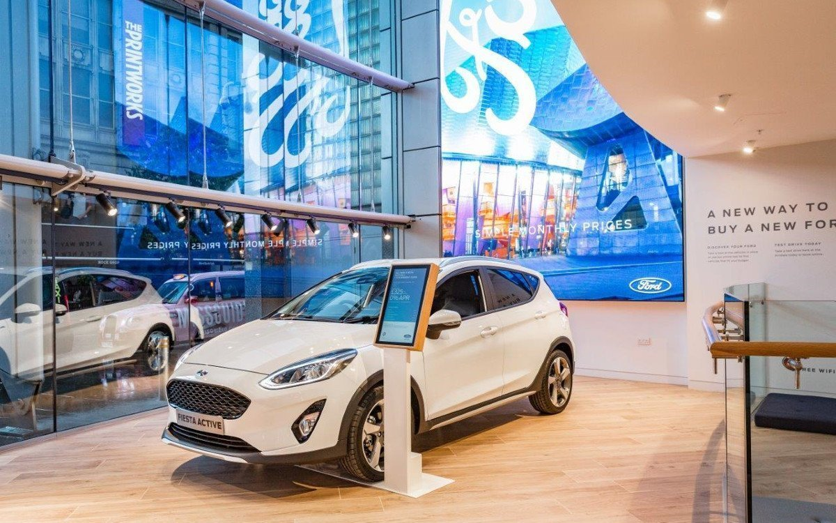 Ford Showroom bei Next Manchester (Foto: Ford)