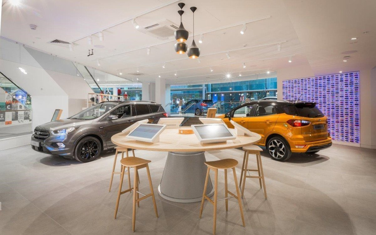 Ford Konfigurator integriert in High Table (Foto: Ford)