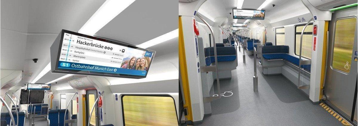 Neben den Displays wurde auch neue Beleuchtung sowie LED an den Türen eingeführt (Foto: DB/BEG)