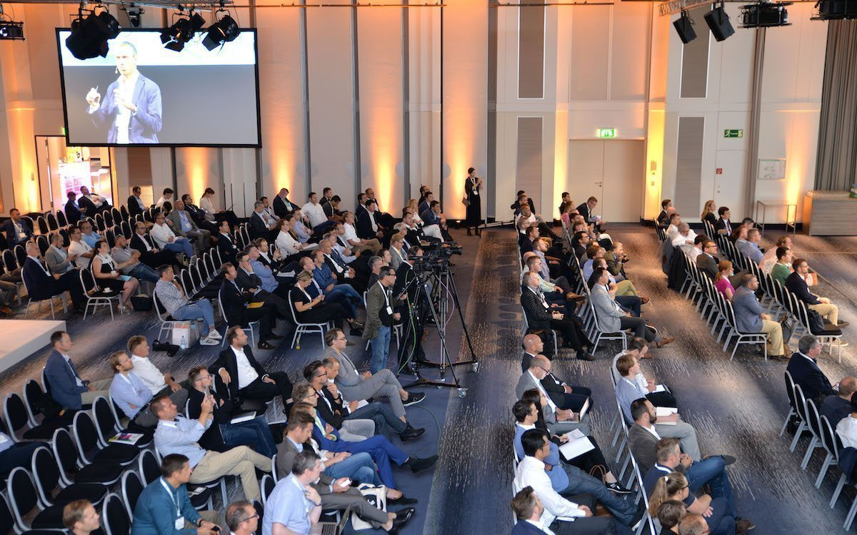 Auditorium beim DSS Europe 2018 (Foto: invidis=