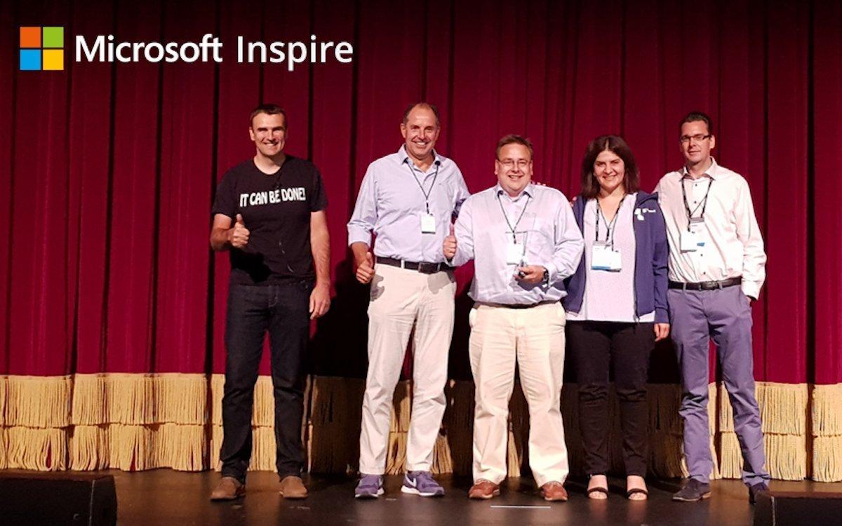 Das DataVision-Team bei der Preisverleihung (Foto: DataVision)