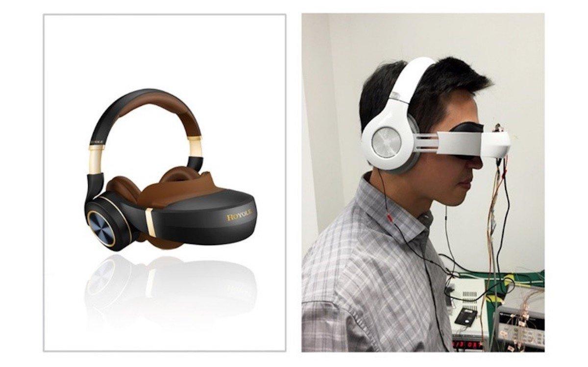 Das Royole Moon ist eine der Eigenentwicklungen der chinesischen Firma – links das fertige Produkt, rechts ein Prototyp aus dem Jahr 2014 (Fotos: Royole Corporation)