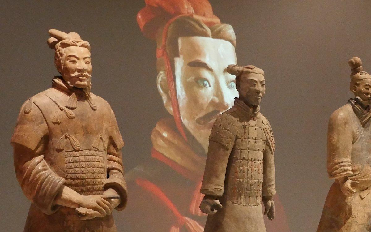 Digitale Projektionstechnologie in der Ausstellung des Museums (Foto: Panasonic)