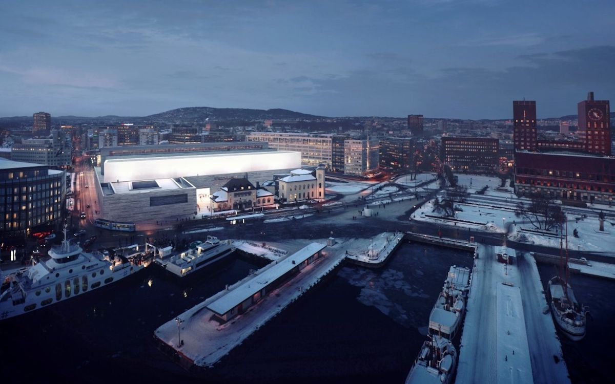 Geplantes Nationalmuseum in Oslo (Foto/Rendering: Nationalmuseum)
