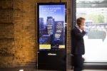 Kampagne von Shell auf einem digitalen 6 Sheet in King's Cross (Foto: JCDecaux)