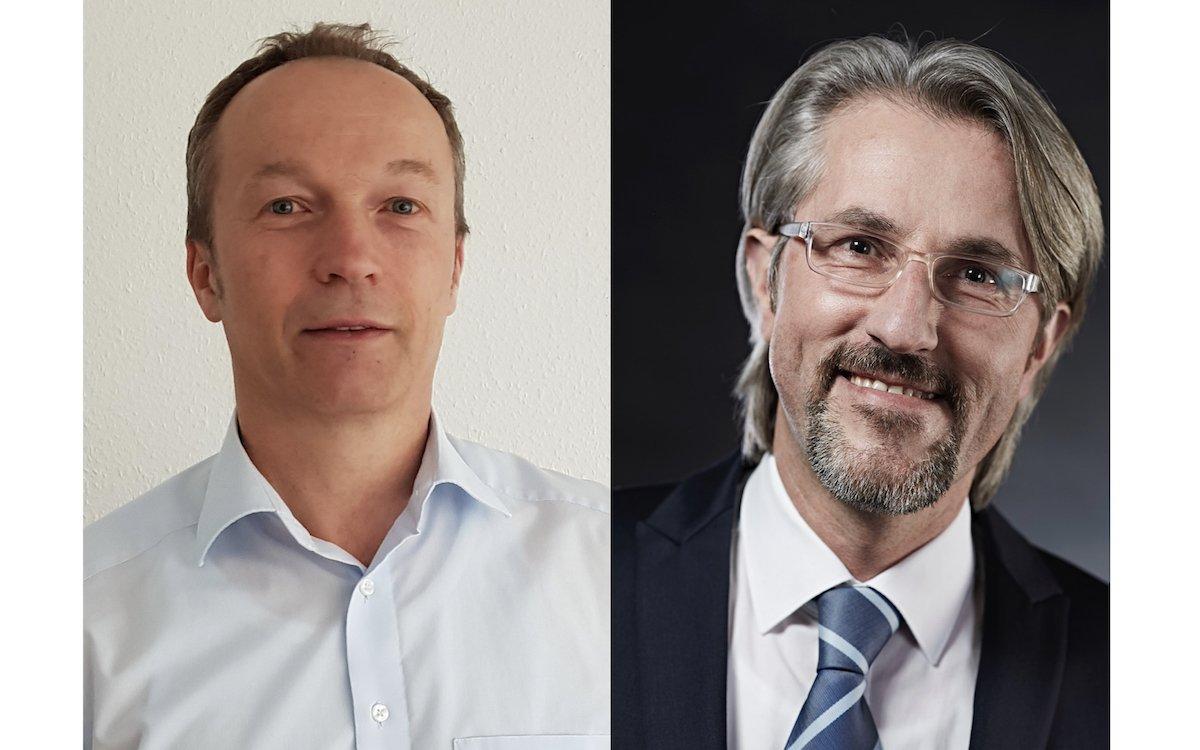Von links: Ralph Umland und Jürgen Kraus verstärken das Team (Foto: Gundlach SEEN MEDIA)