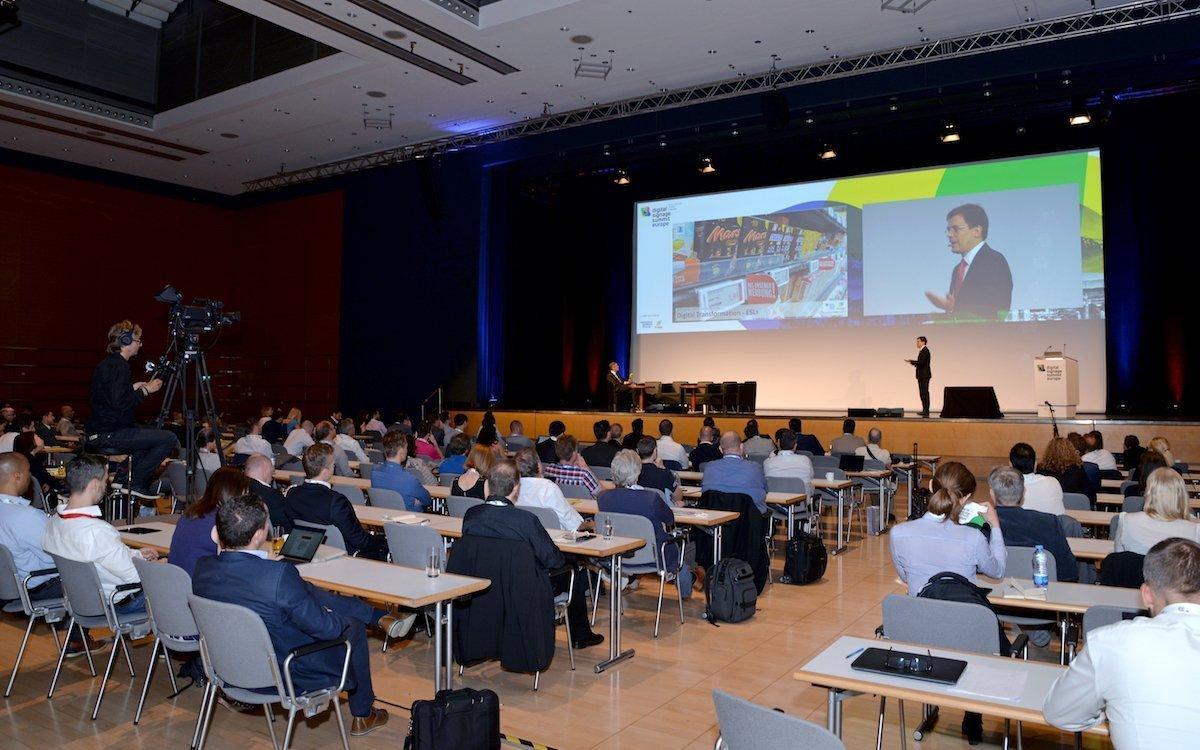 Teilnehmer beim DSS Europe 2017 (Foto: Digital Signage Summit Europe)