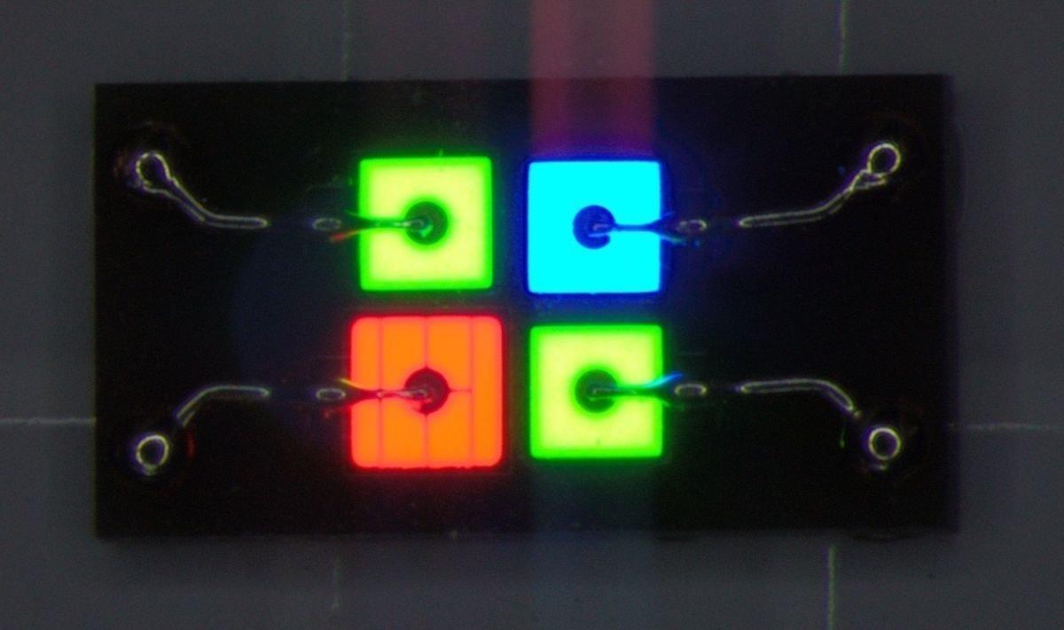 Von Osram mitentwickelte Planar Interconnect Technologie soll neue Möglichkeiten eröffnen (Foto: Osram Opto Semiconductors)