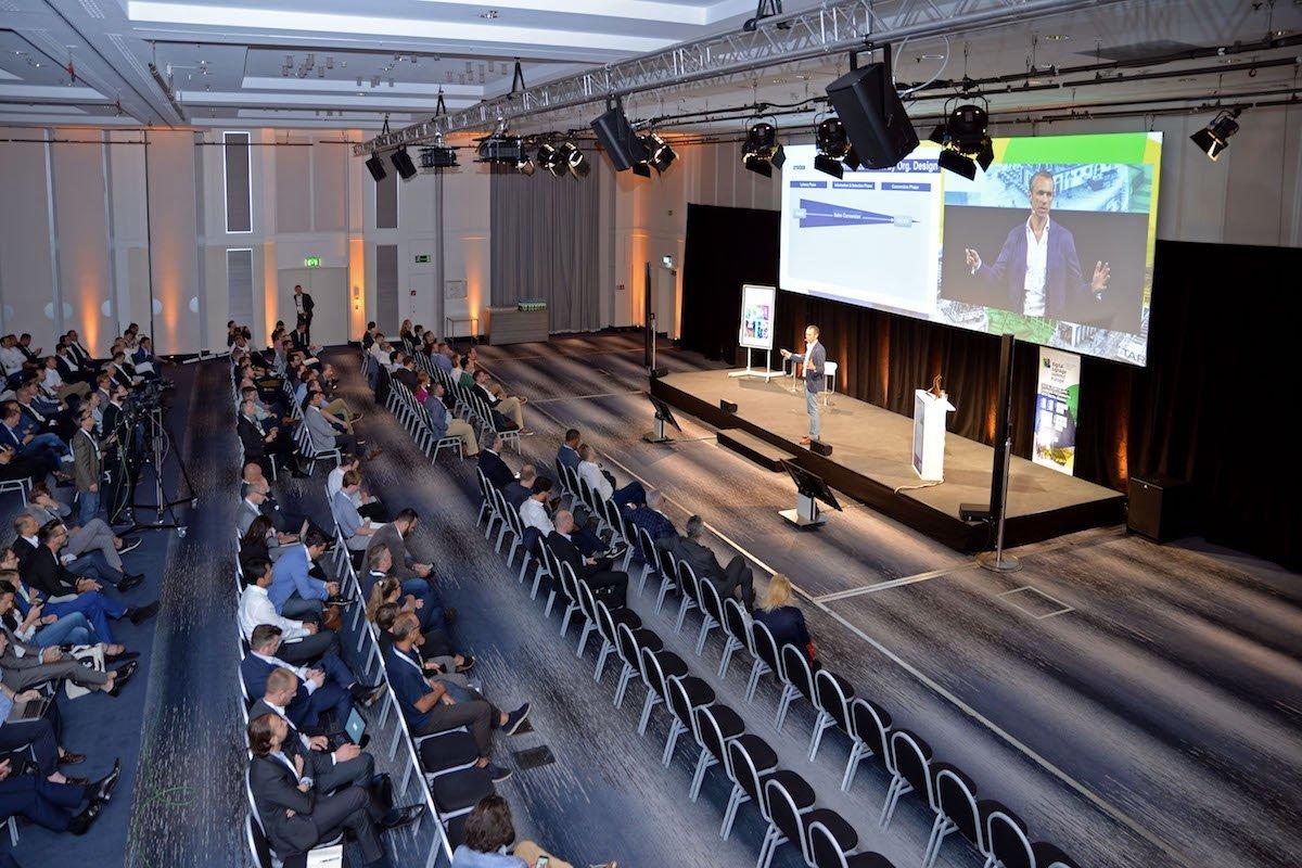 Zahlreiche Vorträge und Präsentationen lockten die Branche nach Frankfurt (Foto: invidis)