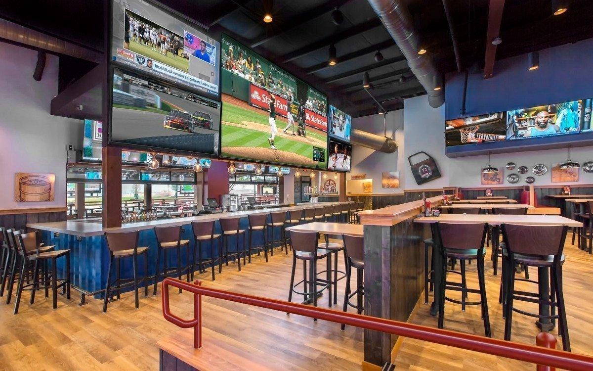 Leyard LED in einer Sportsbar in Dallas (Foto. BoomerJack)
