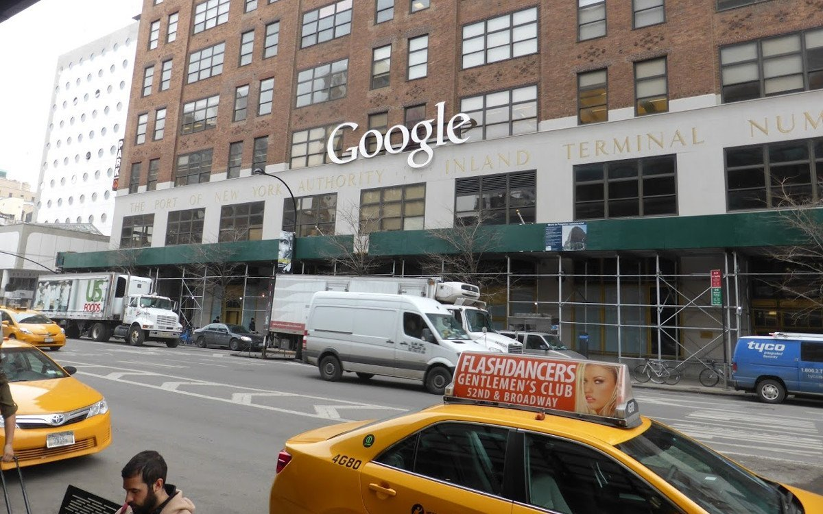 Google in New York (Foto: invidis)