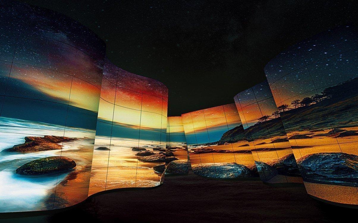 "LG Display OLED 55"" jetzt auch als Open Frame verfügbar (Foto: LG)"