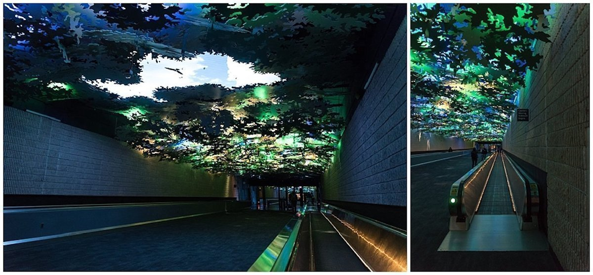 Digitale und analoge Elemente gehören zu dem Kunstwerk (Fotos: ILC)