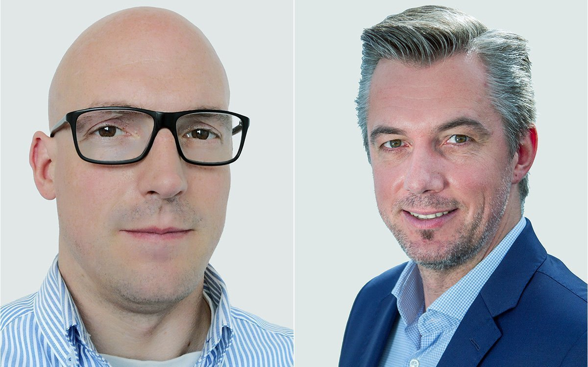 Von links: Dominik Nolte und Oliver Sperling (Fotos: Gahrens + Battermann)