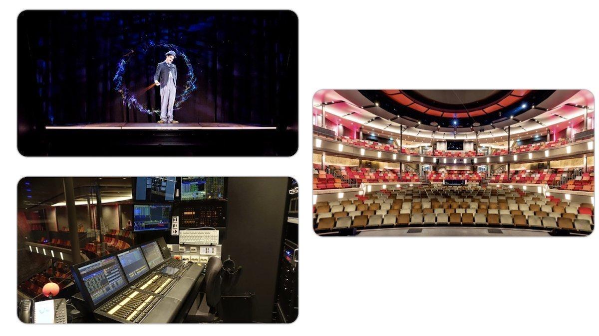Holographie und Co. gehören zum Entertainment-Programm (Fotos: Christie)