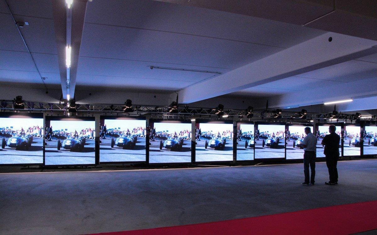 Mehrere hundert Quadratmeter der neuen LED-Lösung stehen ab 2019 zur Verfügung (Foto: Lang AG)