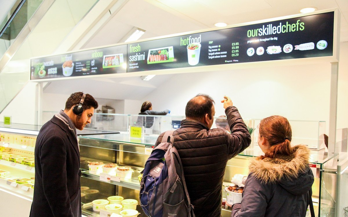 Mit Stretched Screens wird bei Wasabi visualisiert (Foto: Pioneer Group)