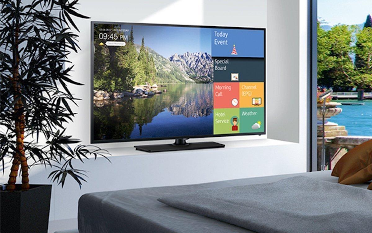 Mit der Garantieverlängerung will Samsung sich im vertikalen Markt Hospitality vom Wettbewerb abheben (Foto: Samsung)