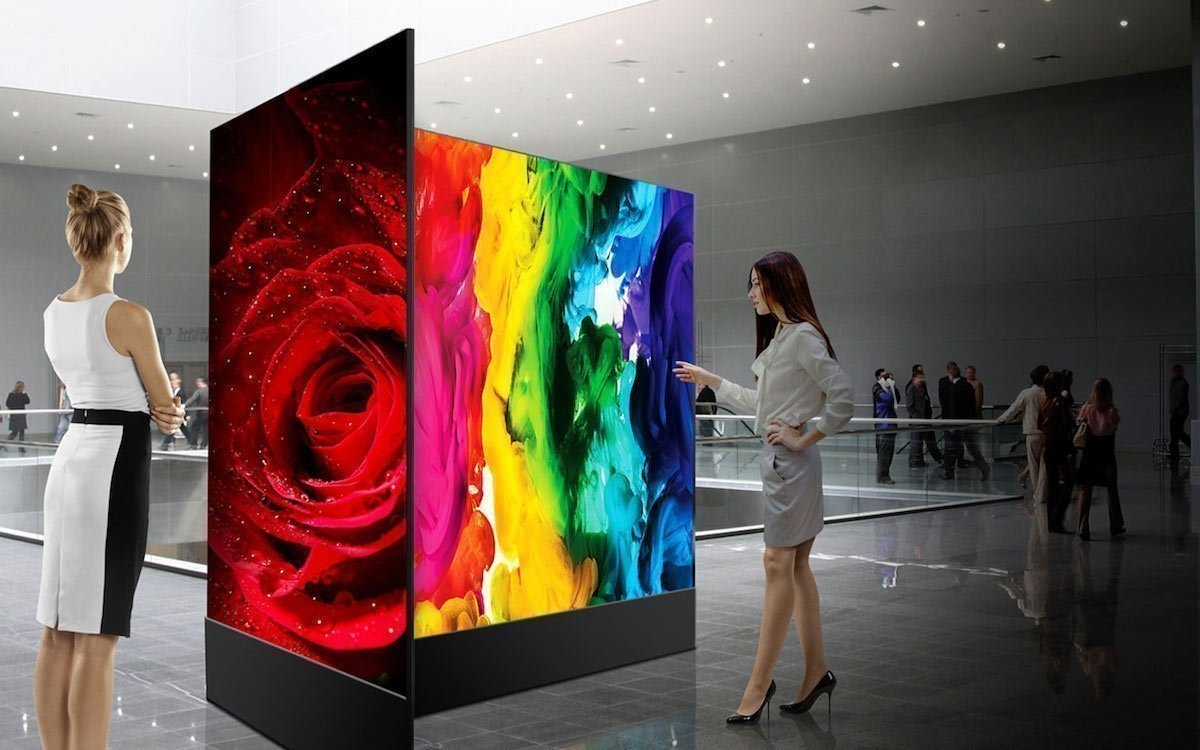 OLED Screens von LG (Foto: LG)