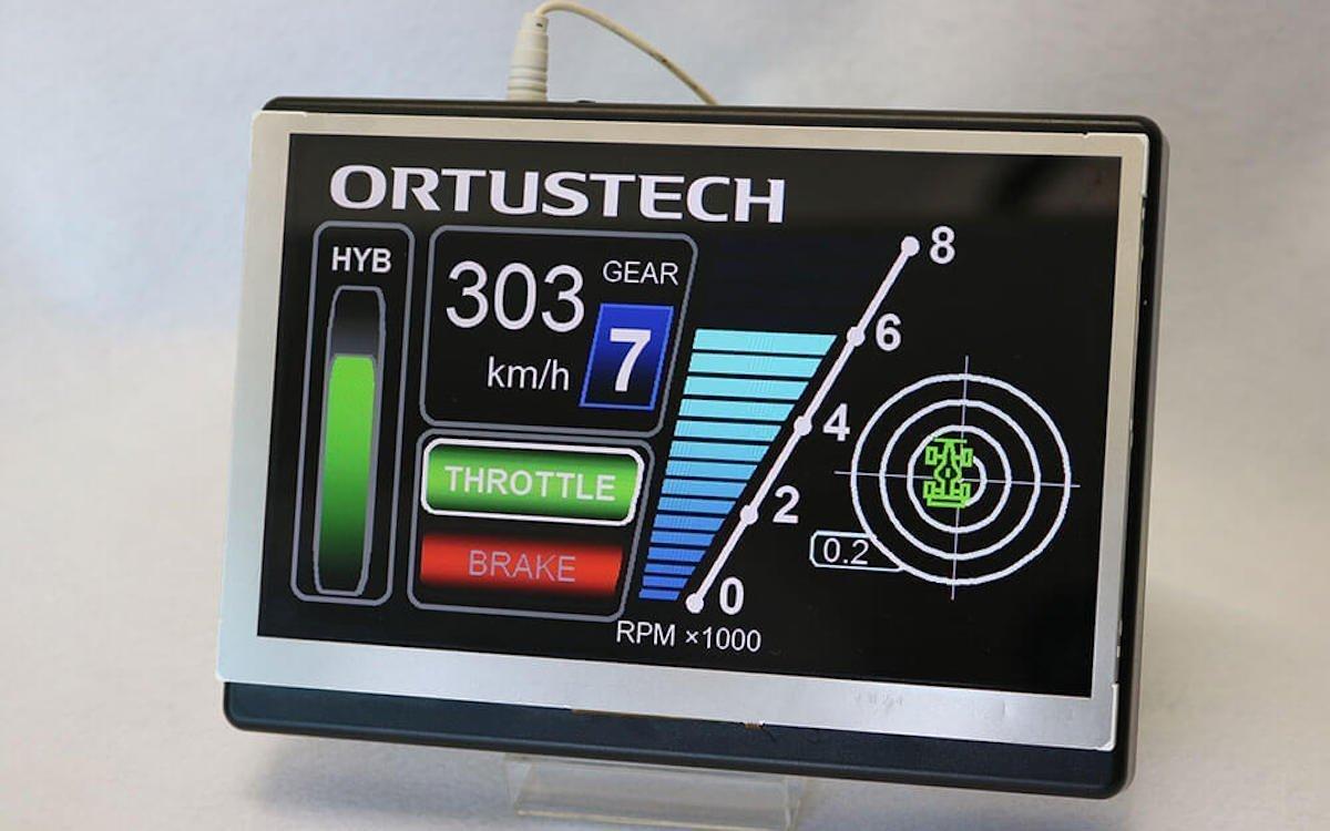 Ortustech-Screen COM70H7M24ULC aus dem Portfolio von Distec (Foto: Distec)